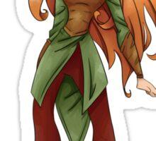 She elf TAURIEL The Hobbit Sticker