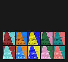 Pop art Daleks - variant 1 by Lenka24