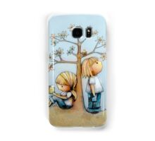 stop and smell the flowers Samsung Galaxy Case/Skin