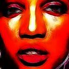 Jazzy Zinnia by Devalyn Marshall