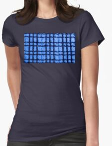 Blue Plaid Knitting T-Shirt