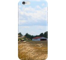 GRASS ON THE FARM iPhone Case/Skin