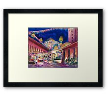 Sunway Play By Night Framed Print