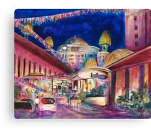 Sunway Play By Night Canvas Print