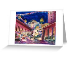 Sunway Play By Night Greeting Card