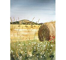 """A Lazy Day"" - Brent Knoll, Somerset Photographic Print"