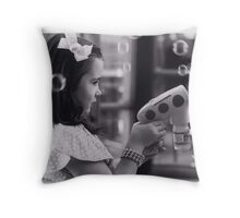 bubbles for christmas Throw Pillow