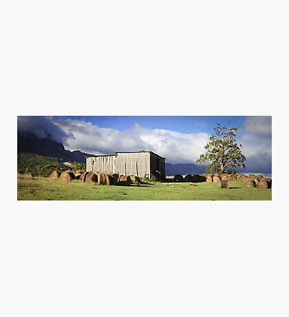 Hayshed on the Hill # 2 Photographic Print