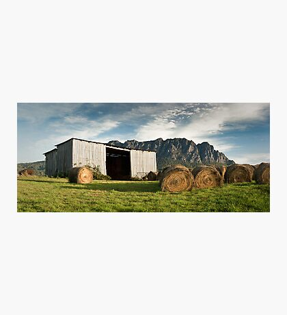 Hayshed on the Hill # 3 Photographic Print