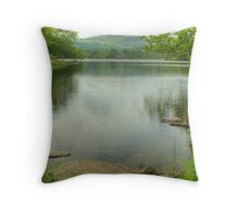 Rydal Water in June Throw Pillow