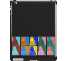 Pop art Daleks - variant 1 iPad Case/Skin