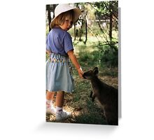 gentle wildlife Greeting Card