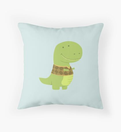 T-VEST Throw Pillow