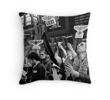 Saint's consumption Church pt 1 Throw Pillow