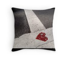 Love where life meets Throw Pillow