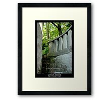Stairway to mysteries Framed Print