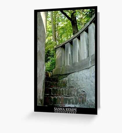Stairway to mysteries Greeting Card