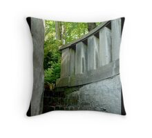 Stairway to mysteries Throw Pillow