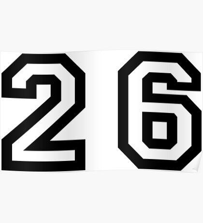 Twenty Six Poster