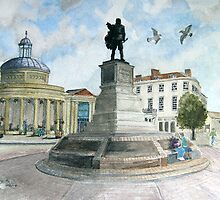"""""""Pointing Home"""" - The Cornhill, Bridgwater, Somerset by Timothy Smith"""