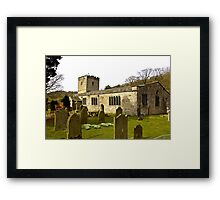 Hubberholme Church Framed Print