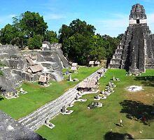 The Great Jaguar in Tikal by Braedene