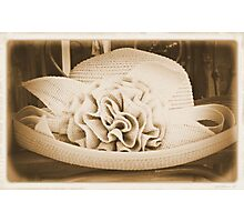 Old Hat Photographic Print