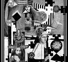 Factory Worker 1 Piece Jigsaw (with Jesus.) by Andy Nawroski