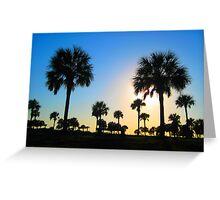 Palm Landscape Greeting Card