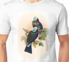 ILLUSTATION OF THE PURPLE WINGED ROLLER Unisex T-Shirt
