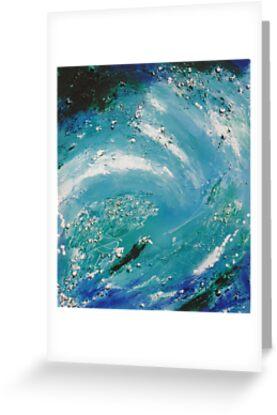 Sea Abstract by © Pauline Wherrell