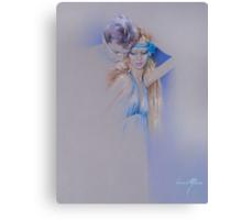 """""""Der Traum"""" Pastel Pencil Artwork Canvas Print"""