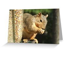The Invader Greeting Card