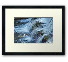 Chalk Creek Falls Framed Print