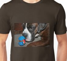 This is definately NOT a cookie!!!  -Boxer Dogs Series- Unisex T-Shirt
