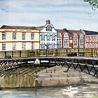 """Walter's Bridge"" - Bridgwater, Somerset by Timothy Smith"