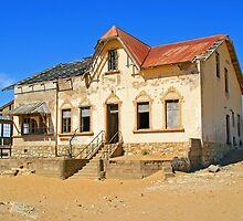 House in ghost town of Kolmanskuppe by Rudi Venter