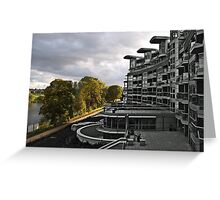 Architecture v Nature Greeting Card