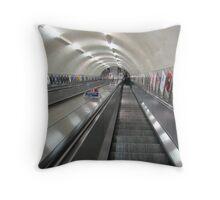 London Tube Throw Pillow