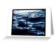 Midnight Elegance Greeting Card