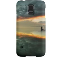 Smoke on the water and fire in the sky Samsung Galaxy Case/Skin