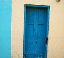 Blue Door by Christine Wilson