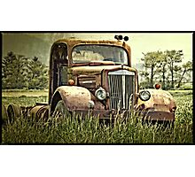 The Rusty Truck Photographic Print