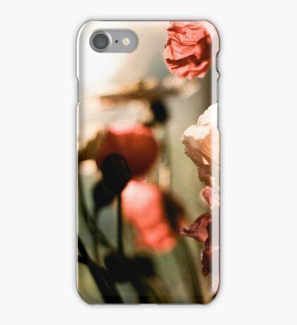 poppies awakening iPhone Case/Skin
