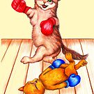 The fat cats always win 315 views by Margaret Sanderson