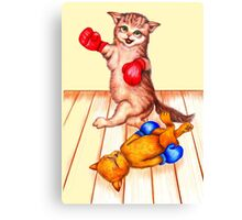 The fat cats always win 315 views Canvas Print