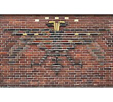 Beautiful brick - Dual-headed eagle Photographic Print