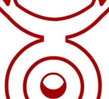 Red Lantern Sticker