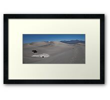 March Sand Dunes Framed Print