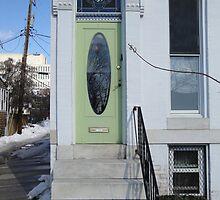 Green Door by porksofpig